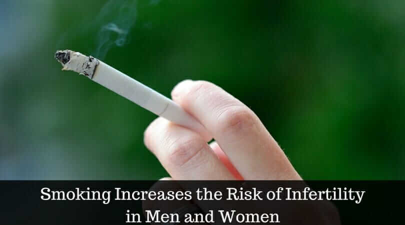Smoking Increases the Risk of Infertility in Men and Women